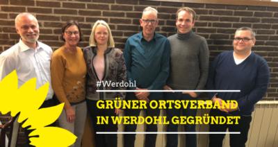 GRÜNER Ortsverband in Werdohl gegründet